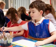 Normanby Primary -  Art lesson